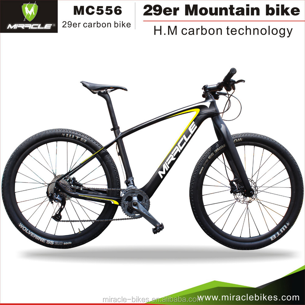 29er mtb bike parts with hard tails carbon frame mountain carbon bike MTB bicycle frame 29