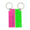 Cheap Plastic KeyChain New Double Sided Custom Logo Pvc and Metal Keychain in bulk