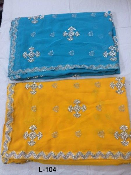 Blue Wholesale Indian sari/saree with blouse stitching at Cheap prices