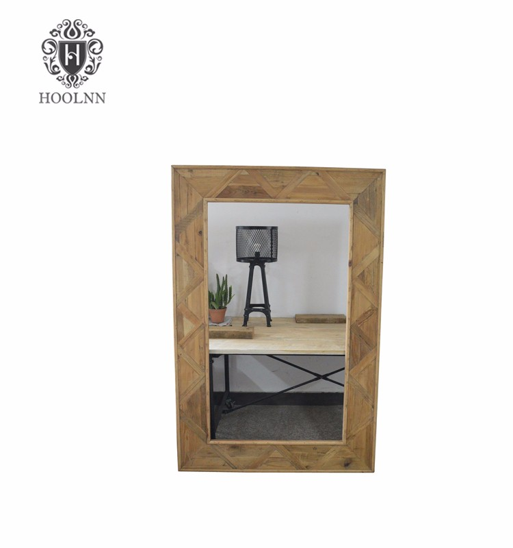 French Style Furniture (salvaged wooden mirror HL050