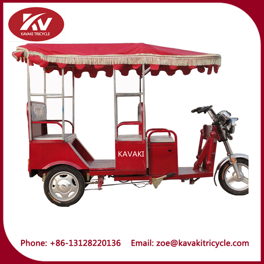 passenger electric tricycle with cabin