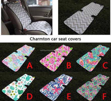 Wholesale Monogram Lilly Pulitzer Car Seat Cover