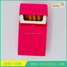 OEM/ODM custom silicone cigarette case For standard and slim size