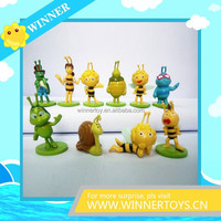 Plastic Maya bee anime action figures