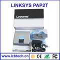 with two FXS port(Factory price) Brand new Unlocked Linksys pap2t-na , voip adapter