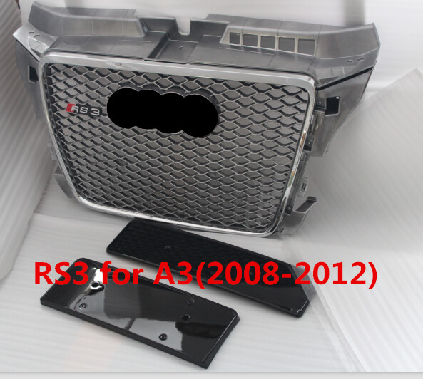 Auto grille for AUDI A3 grill/high quality RS3 grills body kits