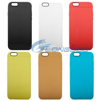Honeycomb Silicon tpu Case for iPhone 6 4.7""