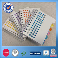 PP Cover Spiral Notebook With Die