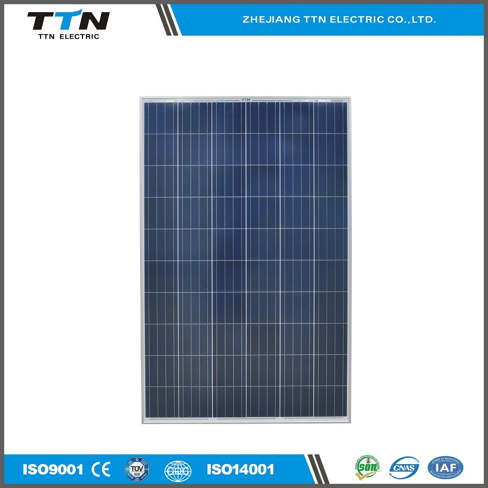 Commercial TTN off-grid 12/24v 300w polycrystalline solar panel manufacturing in China