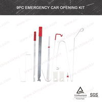 Automotive tools 9pc Emergency Car Opening Kit for all cars (VT01154)