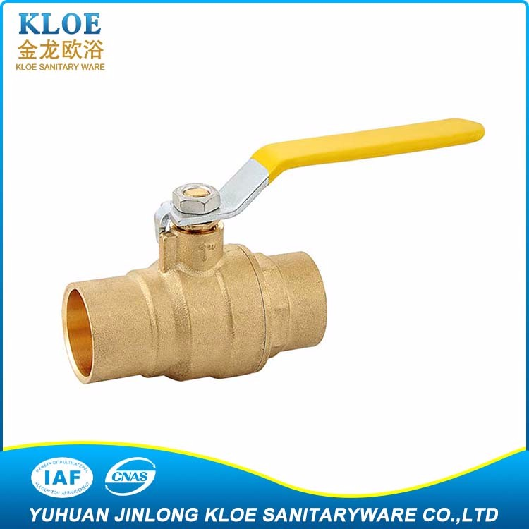"US AGA 3/4"", 1/2"" Cheap Price Brass Ball Valve (Forged)"