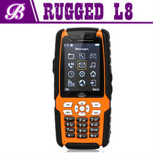 2.4 Inch L8 Walkie Talkie Land Rover Dual Sim Rugged IP67 Mobile Phone Waterproof