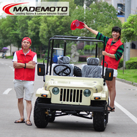 2017 hot selling gas bike new product 150cc mini jeep willys