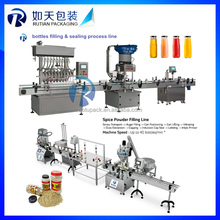 Stainless steel Automatic Sauce,Jam,Mayonnaise,Honey Filling Capping Labeling Machine,High Viscosity Food