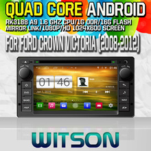 Witson S160 Android 4.4 Car DVD GPS For FORD CROWN VICTORIA (2008-2012) with Quad Core Rockchip 3188 1080P 16g ROM WiFi