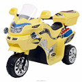ICTI Certificated Plastic Police Motorcycle Toy