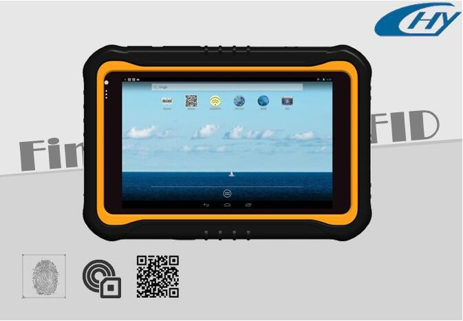 CETC7 7 inch 3g nfc waterproof Biometric Fingerprint tablet PC