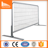 direct factory sales hot dipped galvanized welded temporary fence Canada