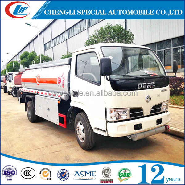 Good design 5m3 fuel dispensing tank truck for sale
