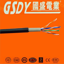 CAT 6 cat flat utp cat 5 lan cable 5e UTP/FTP network cable 4 Pairs lan cable