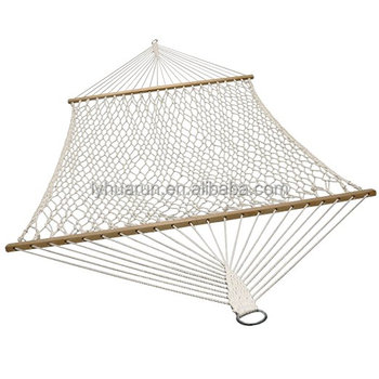 Double Polyester Rope Mesh Hammock