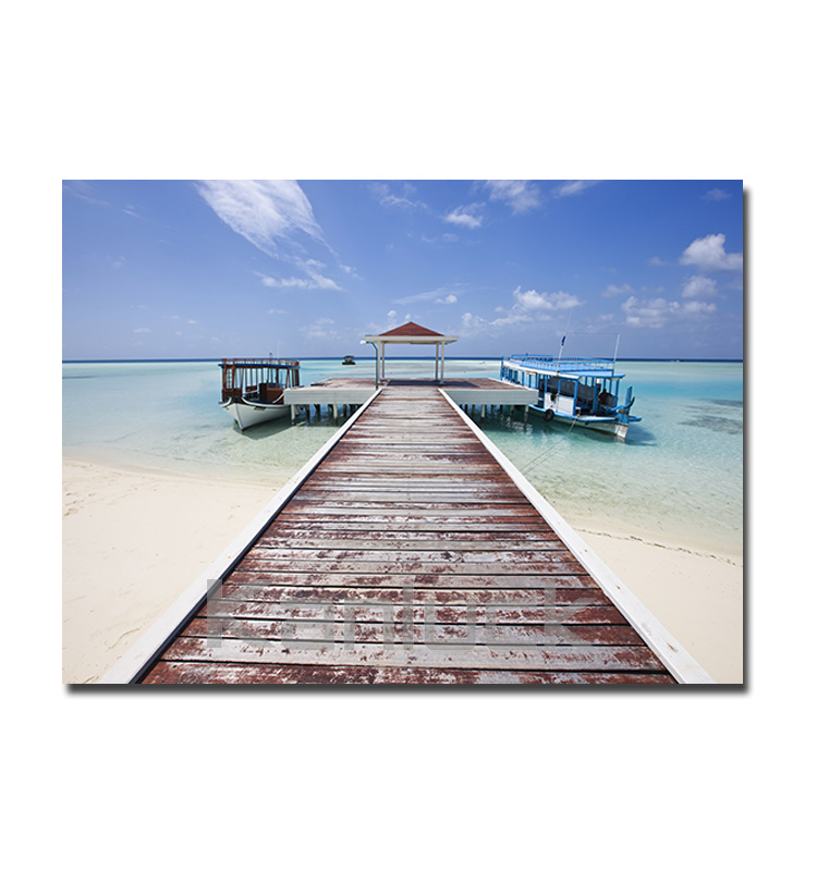 Sea Beach Ocean Canvas Print Photographic Print