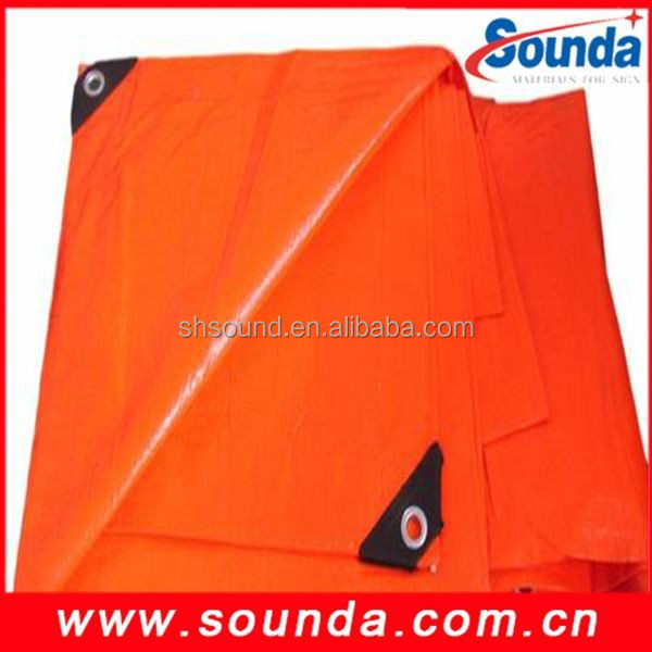 China Supplier /High quality PE Plastic Sheet Tarpaulin