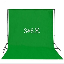 Muslin digital photo studio hand-painted 3x6m 10x20ft green screen video backdrops background for photography