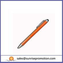 Aluminum Orange Ball Pen Give Away Metal