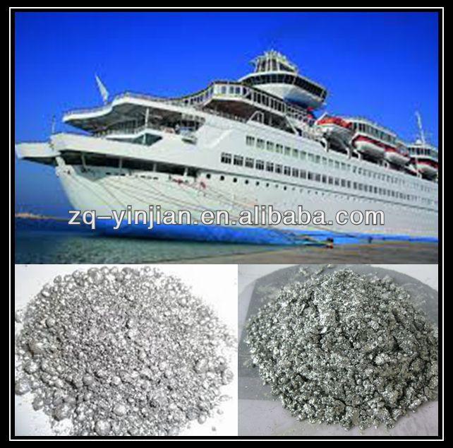Standard Leafing aluminum paste pigment for Marine protective paint /PPG coatings