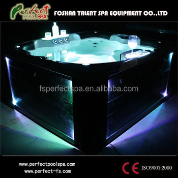 2014 new arrival Europe LED luxury outdoor spa