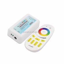 4 zone RGBW led controller with RF 2.4G touch remote control for 12-24V led strip light