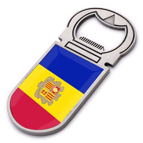 Custom 3d Andorra fridge magnet metal souvenirs