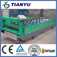 double layer galvanized corrugated roofing sheet machine Metal stud and track