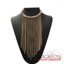 Sexy Collar With Long Tassel Body Chain Necklace N6-8138-6200