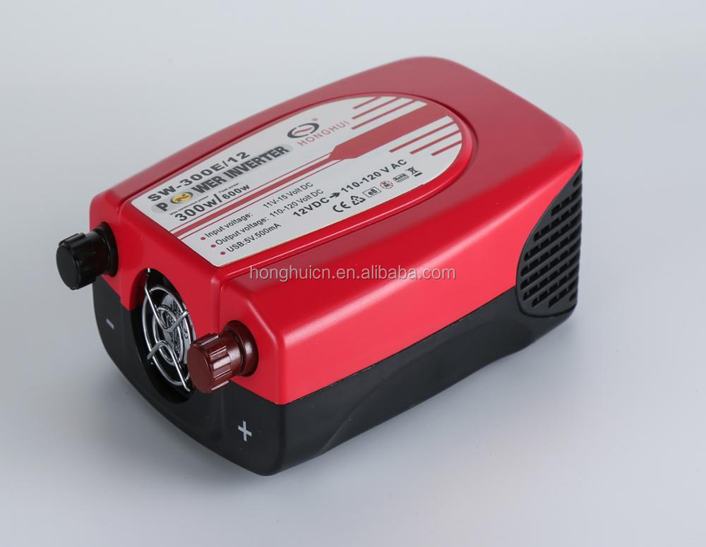 300w surge 600w dc to ac modified sine wave inverter with rohs