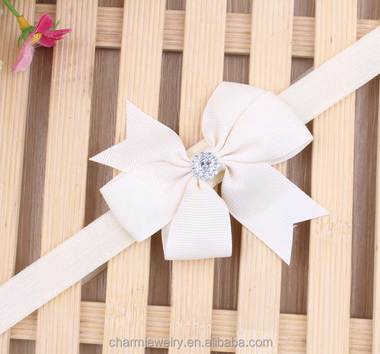 NEW ribbon bow baby headband & children hair accessories for kids (elastic hair bands+headdress )BTS010