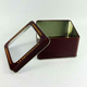Food safe cookie packing square window tin box