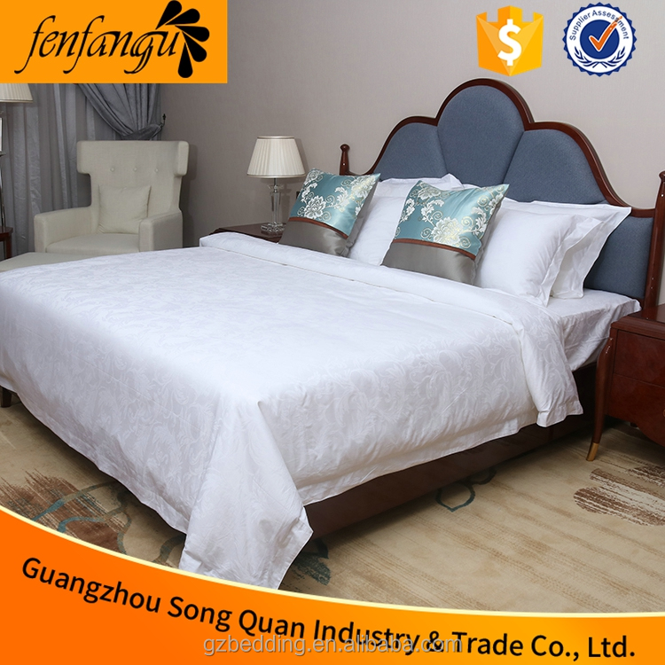 hotel and hospital used dubai bed sheet set