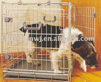 foldaway wire stainless dog cage