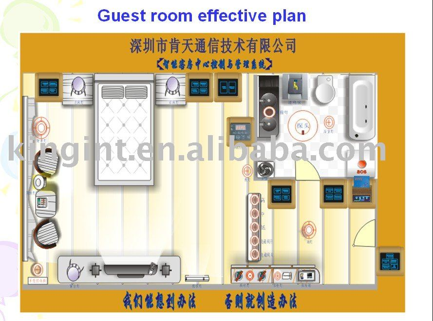 Hotel system Guest Room Mapping