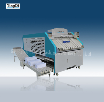 automatic towel folder machine 1500pcs/h laundry folding machine