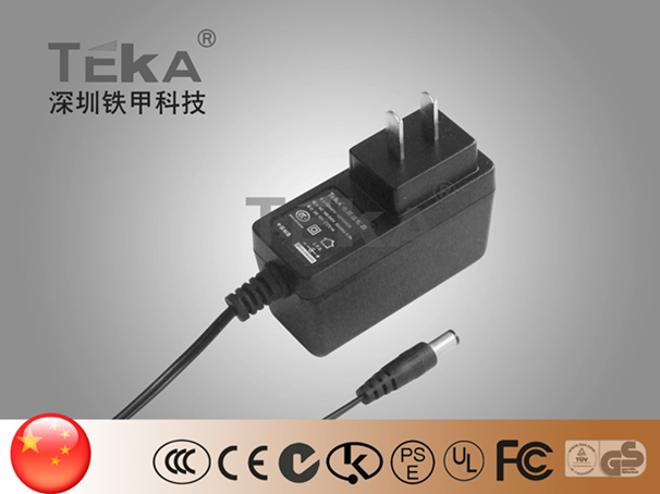 12W power CH AC/DC adapter switching(Side Plug )