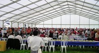 conference event tent hall design
