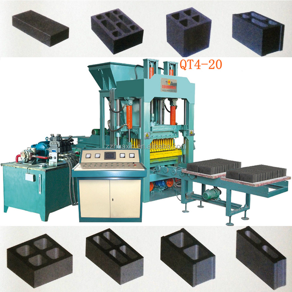 QT4-20 Factory supply light weight brick making machine