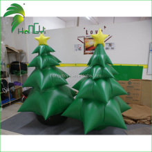 Standing Decoration 2M Tall Custom Made Christmas Inflatable Indoor Trees