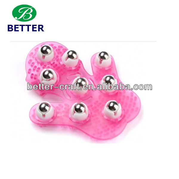 plastic massager girl body massage