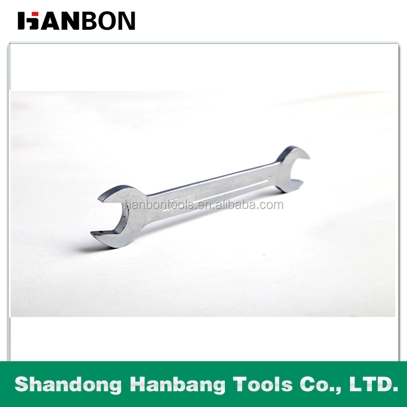 Hardware Tool Double Open End Wrench With Chrome Plated