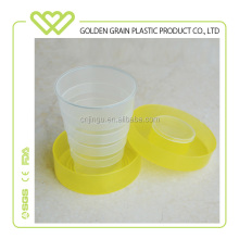 Food Grade Plastic Telescopic Folding Cup Collapsible Cup Foldable Cup