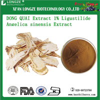 Chinese herb extract Angelica Ferulic acid 0.1% 1%Ligustilide DONG QUAI Extract P.E Angelica sinensis Extract